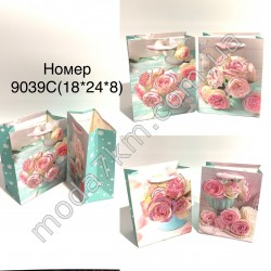 Пакет подарочный №9039С