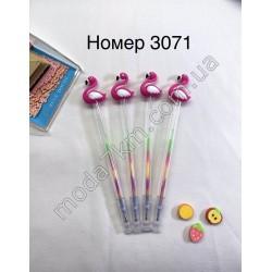 Ручка-фламинго№3071
