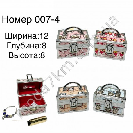 Шкатулка для украшений№007-4